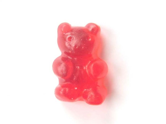 Our gummy bear.